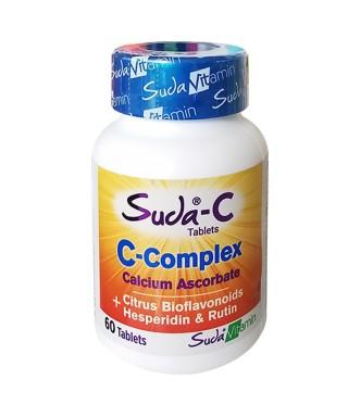 Suda Vitamin Suda-C C-Complex Takviye Edici Gıda 60 Tablet
