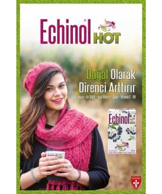 Echinol Hot Ekinezya - Kara Mürver - Limon Aromalı 10 Saşe