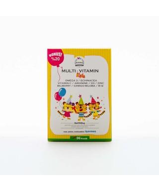 NatVitDay Multi - Vitamin Kids 36 Pastil