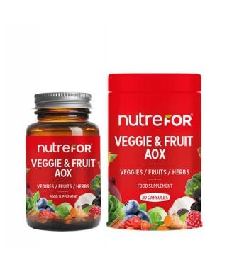 Nutrefor Veggie & Fruit Aox 30 Kapsül