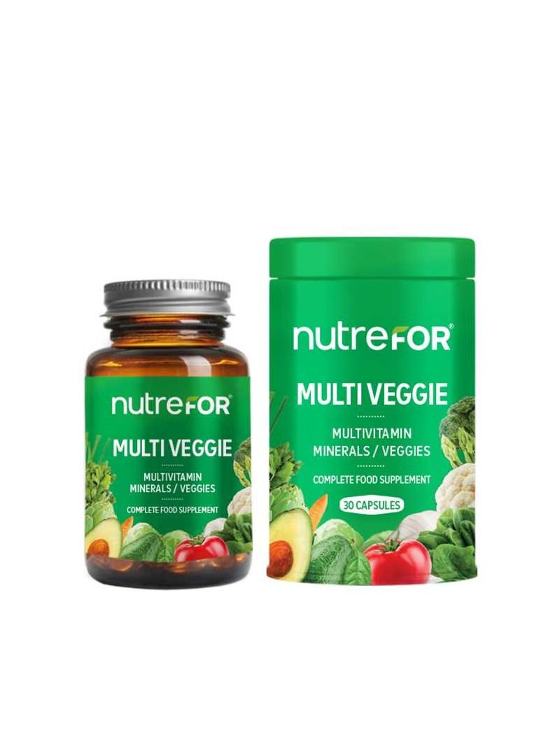 Nutrefor Multi Veggie 30 Kapsül