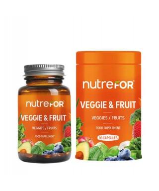 Nutrefor Veggie & Fruit 30 Kapsül