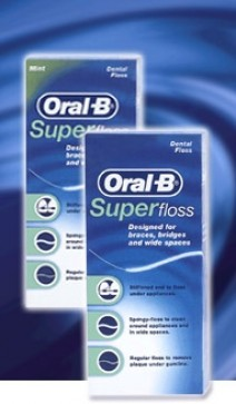 Oral-B Super Floss Diş İpi :