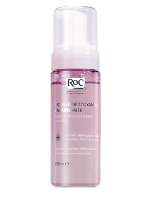 Roc Energising Cleansing Mousse 150ml