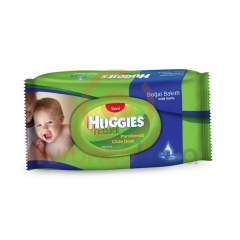 Huggies Natural Islak Havlu 64 lü :