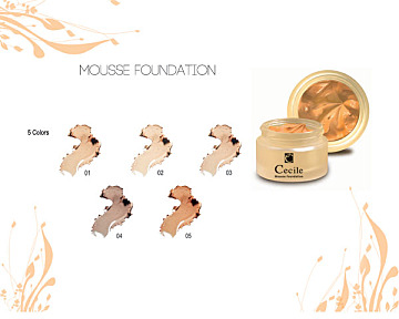 Cecile Mousse Foundatain :