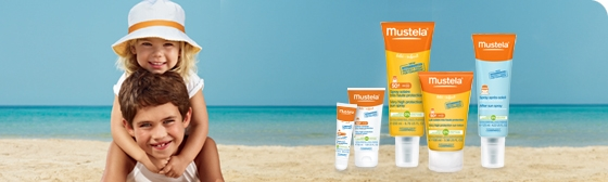 Mustela Protective Milk Spf 50+ 100 ml + After Sun Spray 125 ml :