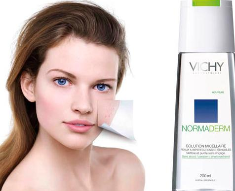 vichy normaderm solution