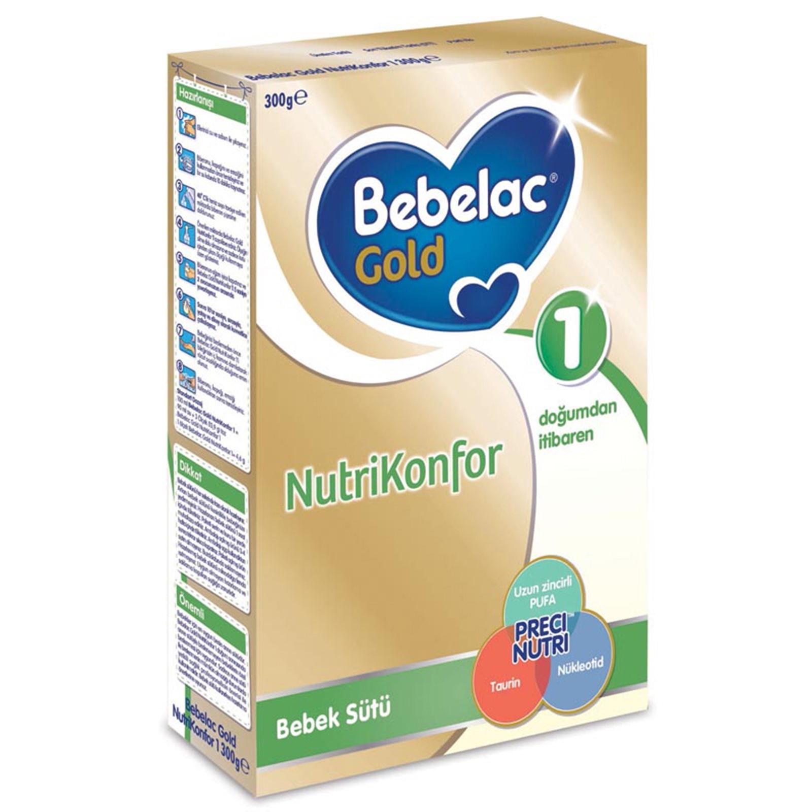Bebelac Gold Nutrikonfor 1-300 gr.