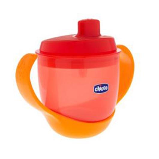 Chicco Meal Cup Bardağı 12 Ay+ 180ml Turuncu