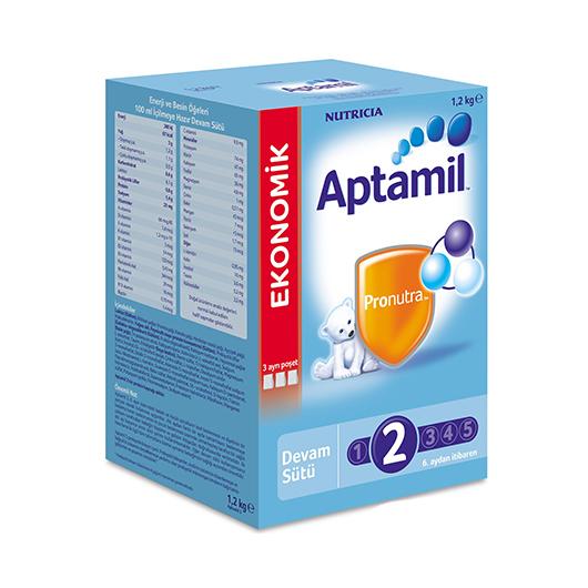 Milupa Aptamil 2 Devam Sütü 1200 gr :