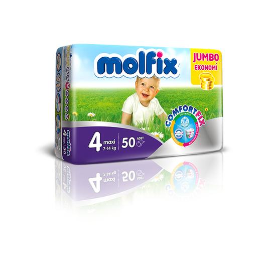 Molfix Jumbo 4 Numara (7-18 kg) 60 Adet :