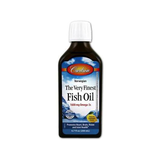 Carlson Fish Oil Balık Yağı Şurup 200ml ( Limon Aromalı )