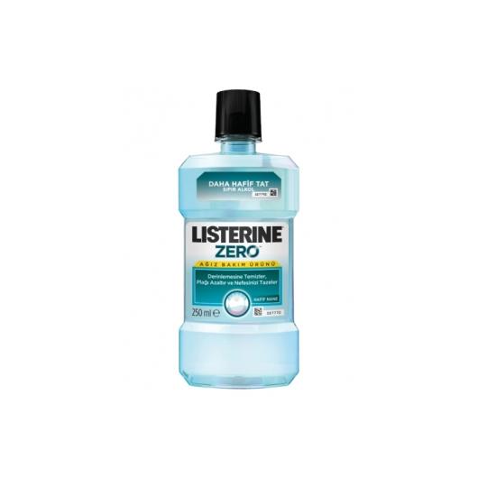 Listerine Zero Alkolsüz Ağız Gargarası 250 ml - Hafif Nane