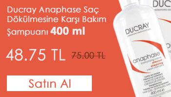 Ducray Anaphase Saç Dökülmesine Karşı Bakım Şampuanı 400 ml