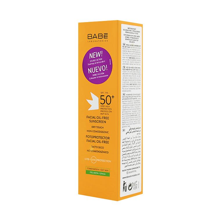 Babe Yüz İçin Yağsız Güneş Koruyucu SPF 50+ Krem 50 ml