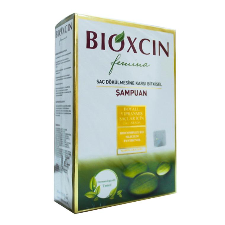 Bioxcin Femina Şampuan Bayan 2in1 Yıpranmış Saçlar :