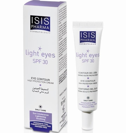 Isis Pharma Light Eyes Spf30 15ml