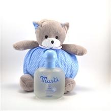 Mustela Musti Parfüm Ayıcık Hediyeli Mavi: