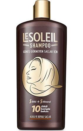 Le Soleil Güneş Görmeyen Saçlar İçin Şampuan 650 ml - Kuru ve Boyalı Saçlar