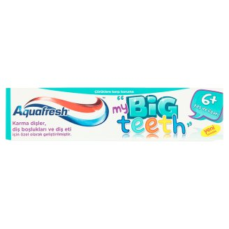 Aquafresh my Big Teeth Diş Macunu 6+ Yaş 50ml