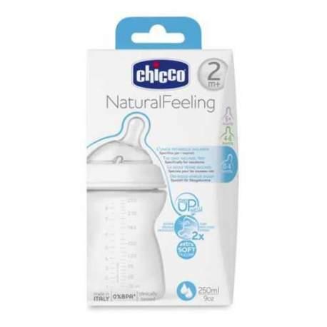 Chicco Natural Feeling Biberon 2 Ay+ 250 ml