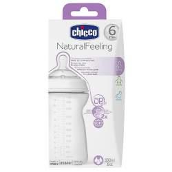 Chicco Natural Feeling Biberon 6 ay+ 330 ml