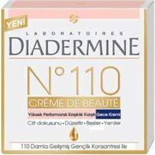 Diadermine Diadermine N°110 Kırışıklık Karşıtı Gece Kremi
