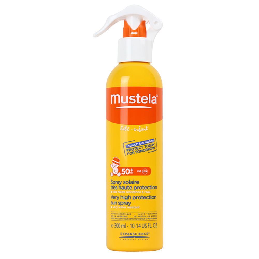 Mustela Very High Sun Protection Sun Spray SPF50+ 300 ml