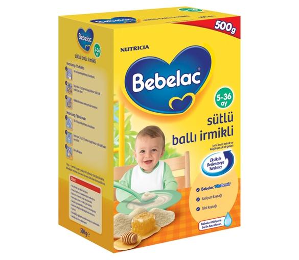 Bebelac Sütlü Ballı İrmikli 500 gr Bebek Maması