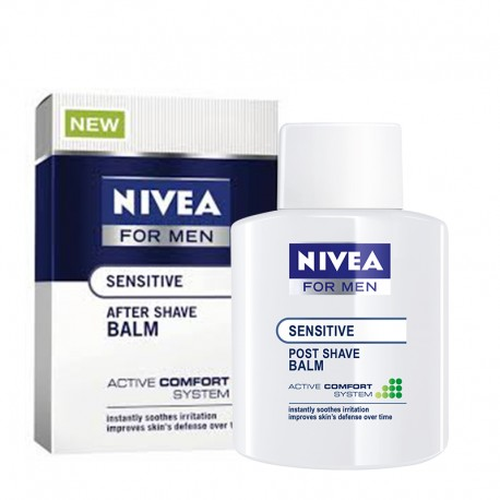 Nivea For Men Sensitive After Shave Balsam Hassas Ciltler İçin 100 ml