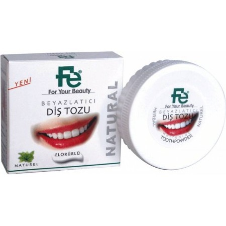 Fe Diş Tozu Natural Herbal